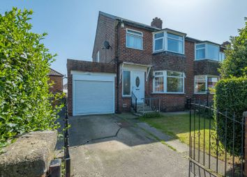 Thumbnail 3 bed semi-detached house for sale in Mapperley Drive, South West Denton, Newcastle Upon Tyne
