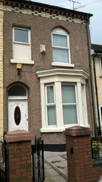 Thumbnail 3 bedroom terraced house to rent in Burleigh Road North, Anfield, Liverpool