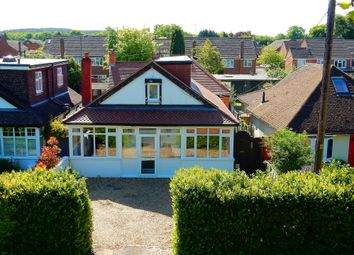 Thumbnail 4 bed detached bungalow for sale in Hamesmoor Road, Mytchett, Camberley