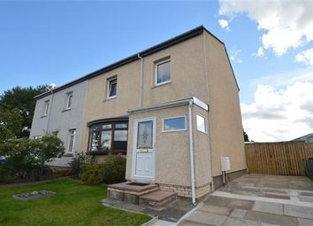 Thumbnail 3 bed semi-detached house for sale in Albans Crescent, Motherwell, Glasgow