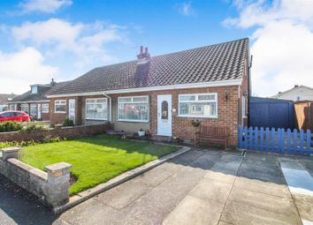 Thumbnail 3 bed semi-detached bungalow for sale in Ashleigh Drive, Beeford, Driffield