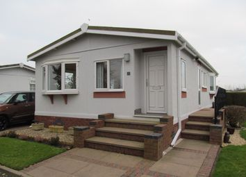 Thumbnail 2 bed mobile/park home for sale in Sunny Bank Park, Sunnybank, Lapley, Staffordshire