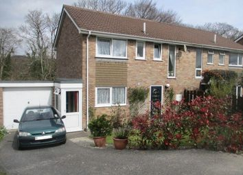Thumbnail 3 bed semi-detached house for sale in Higher Woodside, Trewoon, St. Austell