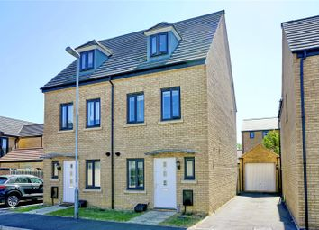Thumbnail 3 bed semi-detached house for sale in Wren Close, St. Ives, Cambridgeshire