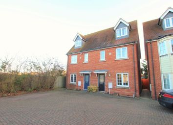 Thumbnail 3 bed terraced house to rent in Woden Avenue, Stanway, Colchester
