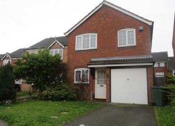 Thumbnail 3 bedroom detached house to rent in Woodruff Way, Walsall