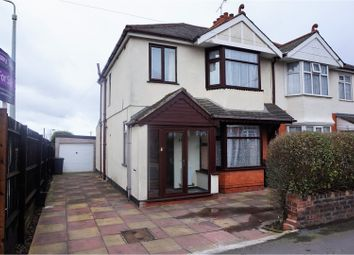 Thumbnail 3 bedroom semi-detached house for sale in Bushbury Road, Wolverhampton