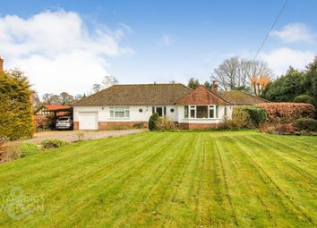 Thumbnail 3 bed detached bungalow for sale in Yarmouth Road, North Walsham