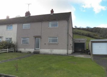 Thumbnail 3 bed semi-detached house for sale in Maesydderwen, Cwmdyfran, Bronwydd Arms