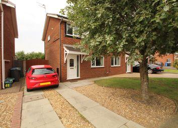 Thumbnail 3 bed semi-detached house for sale in The Rowans, Poulton-Le-Fylde, Lancashire