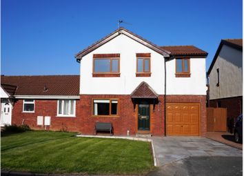 Thumbnail 4 bed semi-detached house for sale in Webstray Close, Barrow-In-Furness