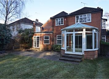 Thumbnail 4 bed detached house to rent in Woodlands Close, Ascot