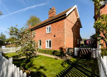 Thumbnail 3 bed semi-detached house for sale in Church Road, Wilby, Eye