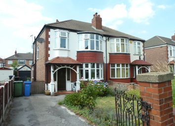 Thumbnail 3 bed semi-detached house to rent in Stockport Road, Stockport