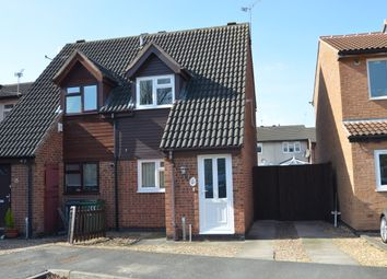 Thumbnail 2 bed semi-detached house to rent in Gorse Lane, Syston, Leicester