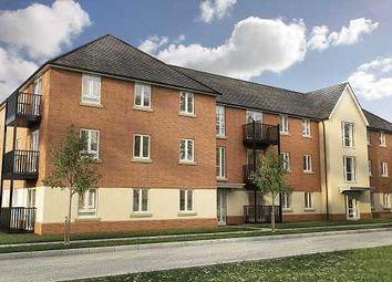 Thumbnail 2 bed flat for sale in Deardon Way, Shinfield, Reading