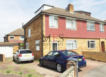 Thumbnail 4 bed semi-detached house for sale in The Gardens, Bedfont