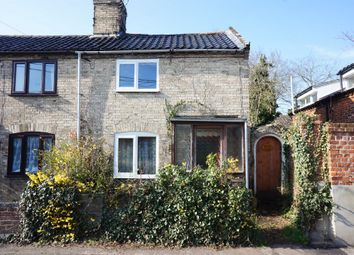 Thumbnail 2 bed semi-detached house for sale in The Street, Earsham, Bungay