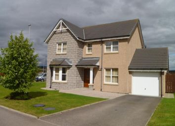 Thumbnail 4 bed detached house to rent in Balfluig View, Alford