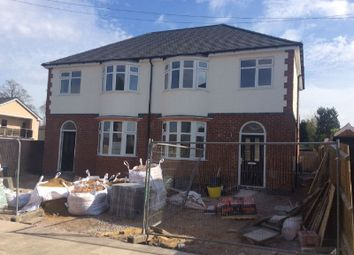 Thumbnail 3 bed semi-detached house for sale in Hillcrest Road, Knighton, Leicester
