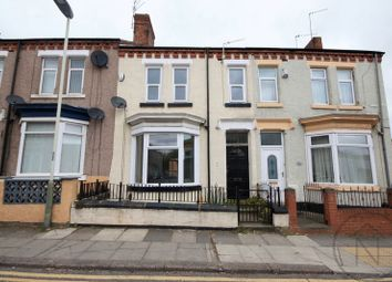 Thumbnail 3 bed terraced house to rent in Corporation Road, Darlington