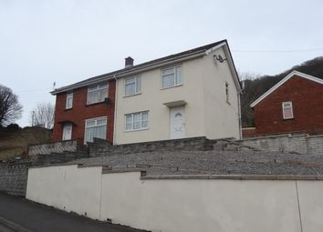 Thumbnail 2 bed semi-detached house to rent in Bryn Ilan, Glyntaff, Pontypridd