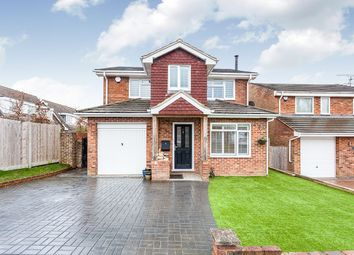 Thumbnail 4 bed detached house for sale in Hillside, Crawley Down, Crawley