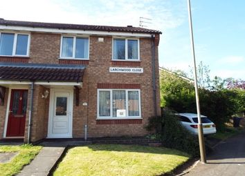 Thumbnail 3 bed semi-detached house to rent in Larchwood Close, Leicester