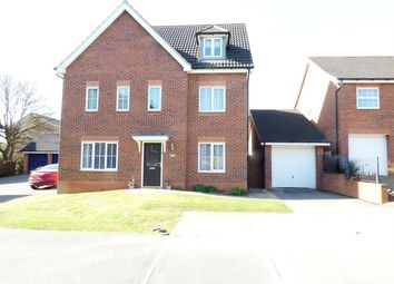 Thumbnail 6 bed detached house for sale in Dodsley Way, Clipstone Village, Mansfield