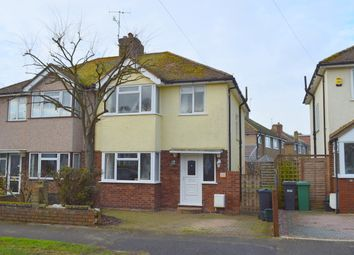 Thumbnail 3 bed semi-detached house to rent in Shirley Avenue, Redhill, Surrey