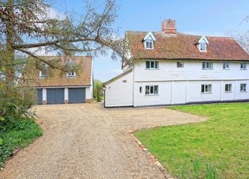 Thumbnail 5 bed detached house for sale in Thorington, Halesworth