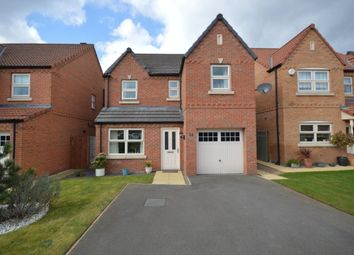Thumbnail 4 bed detached house to rent in Harris Gardens, Epworth, Doncaster