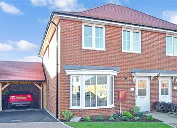 Thumbnail 3 bed semi-detached house for sale in Harrison Road, Aylesham, Canterbury, Kent