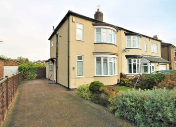 Thumbnail 2 bed semi-detached house for sale in Highfield Crescent, Stockton-On-Tees