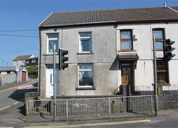 Thumbnail 3 bed end terrace house for sale in Trebanog Road, Trebanog, Porth, Mid Glamorgan.