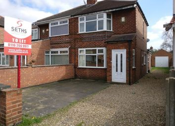Thumbnail 3 bed semi-detached house to rent in Roseway, Rushey Mead, Leicester
