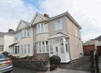Thumbnail 3 bed semi-detached house for sale in Peverell Terrace, Peverell, Plymouth