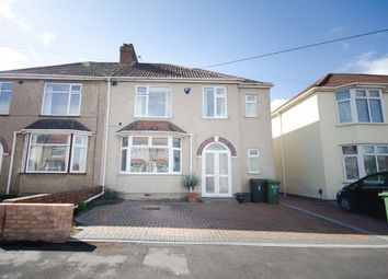 Thumbnail 4 bedroom semi-detached house for sale in Jubilee Crescent, Mangotsfield
