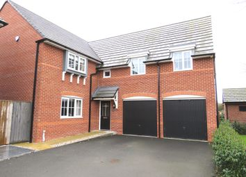 Thumbnail 4 bed detached house for sale in Stubbs Lane, Lostock Gralam, Northwich