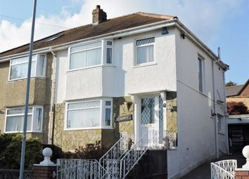 Thumbnail 3 bedroom semi-detached house for sale in Brynawel Crescent, Treboeth, Swansea