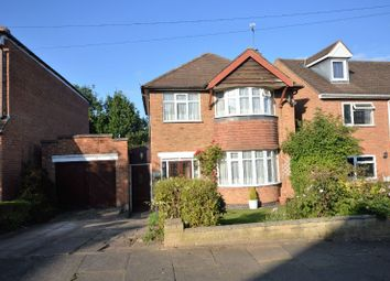 Thumbnail 3 bedroom detached house for sale in Valentine Road, Evington, Leicester