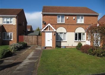 Thumbnail 2 bed semi-detached house to rent in Charnwood Drive, Faverdale, Darlington