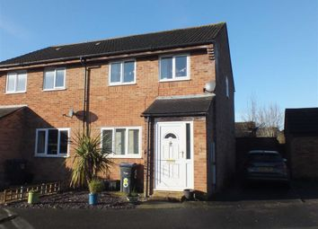 Thumbnail 3 bed semi-detached house for sale in Lopes Way, Westbury, Wiltshire
