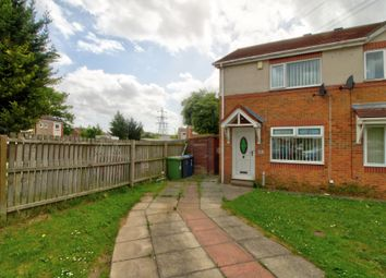 Thumbnail 2 bed semi-detached house for sale in Foxglove Court, South Shields