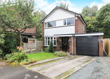 Thumbnail 3 bed detached house for sale in Plane Tree Close, Marple, Stockport