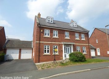 Thumbnail 5 bed detached house for sale in Parklands Drive, Weston, Crewe