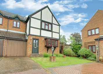 Thumbnail 4 bedroom semi-detached house for sale in Capel Gardens, Pinner