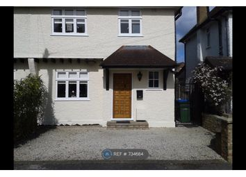 Thumbnail 3 bed semi-detached house to rent in Eaton Row, Thames Ditton