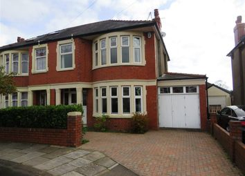 Thumbnail 3 bed semi-detached house for sale in St Ina Road, Heath, Cardiff