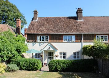 Thumbnail 3 bed cottage to rent in Chalk Hill, Little Somborne, Hampshire